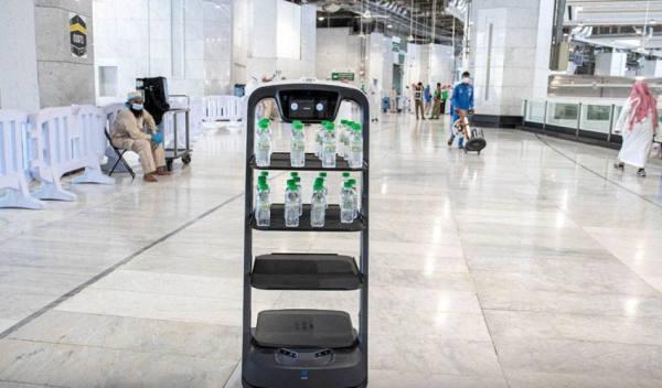 تطوير عمل الذكاء الاصطناعي في المسجد الحرام