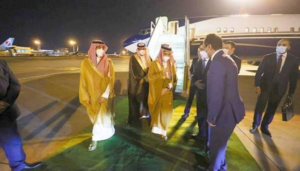 الأمير فيصل بن فرحان يصل أوزبكستان في زيارة رسمية