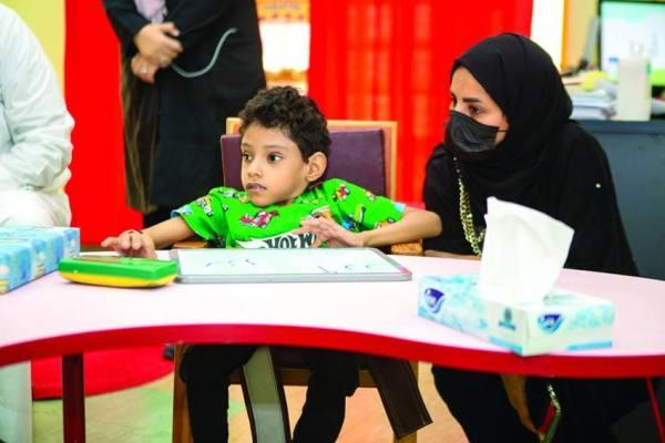 أمانة مكة تزور «الأطفال ذوي الإعاقة»