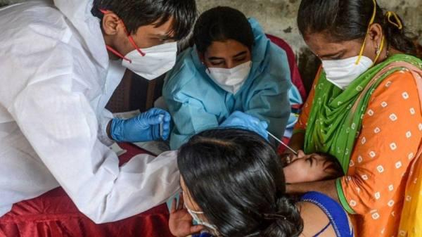 الهند تسجل أكثر من 38 ألف إصابة جديدة بكورونا