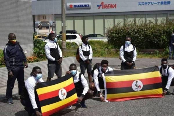 اختفاء رباع أوغندي في اليابان