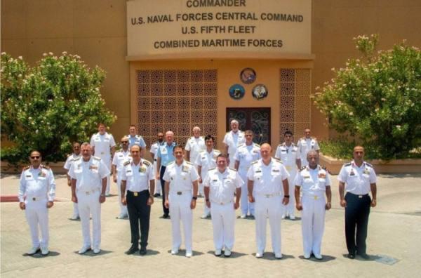 اختتام مؤتمر الأمن البحري للقوات البحرية المختلطة بالبحرين