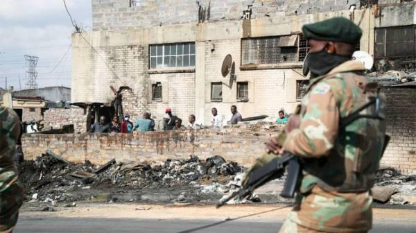 10 آلاف جندي لمواجهة أعمال العنف بجنوب أفريقيا
