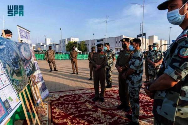 مدير الأمن العام يتفقد الجهات الأمنية المشاركة في الحج