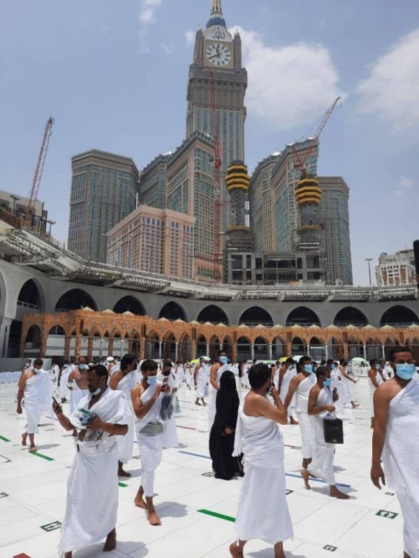 (500) كادر أمن لتنفيذ خطط الطوارئ والسلامة بالمسجد الحرام