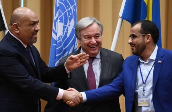 الحكومة اليمنية تحمّل ميليشيا الحوثي مسؤولية عرقلة تنفيذ اتفاق السويد