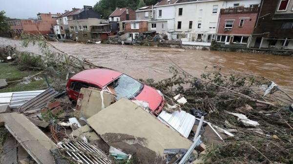 بلجيكا : مغربي ينقذ مسنة من الفيضان
