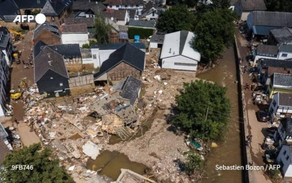 ارتفاع حصيلة ضحايا فيضانات المانيا إلى 165 قتيلا
