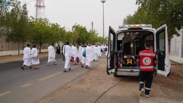 12 مركزاً إسعافياً و 98 مسعفاً لخدمة الحجاج بمشعري عرفات ومزدلفة
