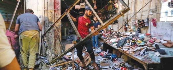 20  قتيلاً على الأقل في انفجار عبوة ناسفة ببغداد