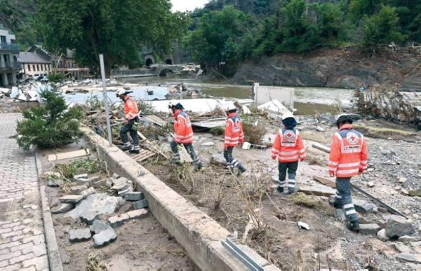 ارتفاع حصيلة ضحايا فيضانات ألمانيا إلى 165 قتيلا