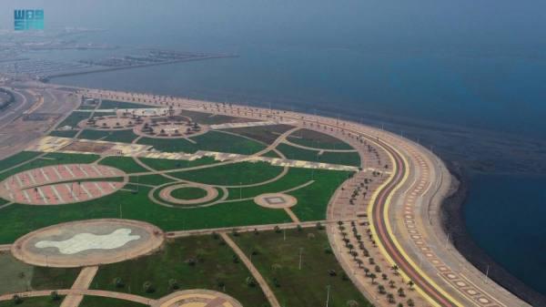 تهيئة 8 وجهات بحرية و8 متنزهات و192 حديقة بمنطقة جازان لاستقبال الزوار في أيام العيد