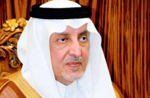 الأمير خالد الفيصل يهنئ القيادة بعيد الأضحى المبارك