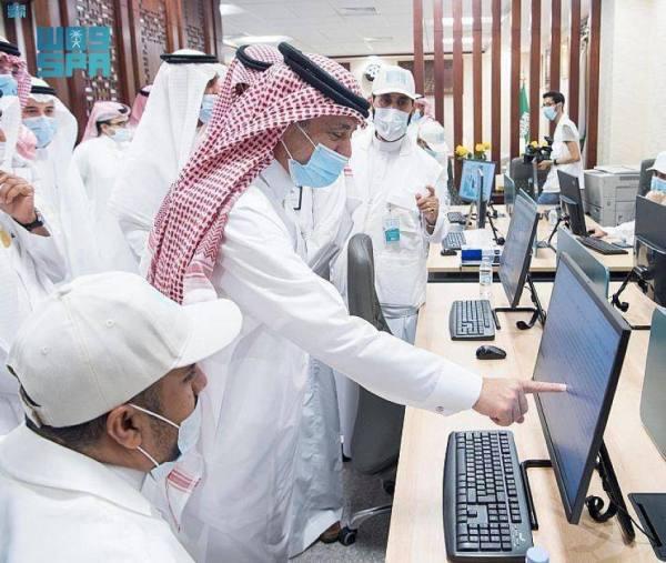 القصبي يدشن المركز الإعلامي لوكالة الأنباء السعودية بجامعة أم القرى
