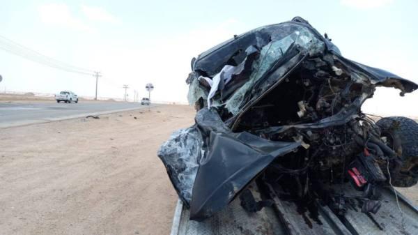 حوطة بني تميم : مصرع 9 إثر حادث مروري 8 منهم من عائلة واحدة