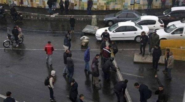 مقتل ضابط إيراني في مظاهرات شح المياه