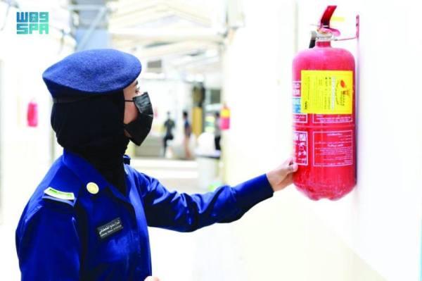 الحج يثبت كفاءة السعوديات في الوظائف الأمنية