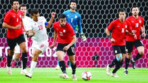 تعادل بطعم  الفوز للمصريين على المنتخب الإسباني