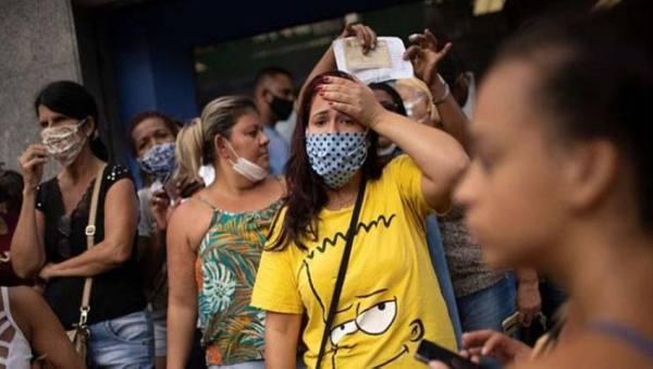 البرازيل تسجل أكثر من 49 ألف حالة إصابة جديدة بكورونا