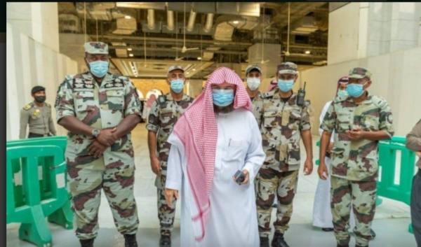 السديس قوات الطوارئ قدمو تسهيلات كبيرة لضيوف الرحمن