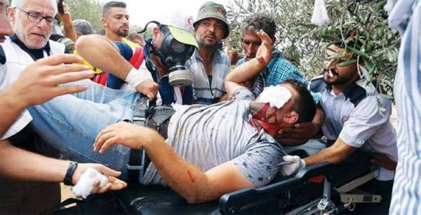 الفلسطينيون يقاومون الاستيطان قرب نابلس