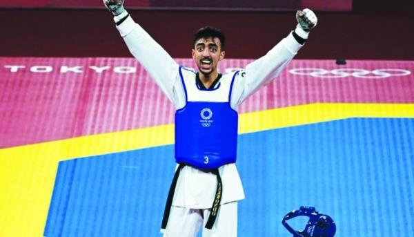الجندوبي يمنح أول ميدالية للعرب