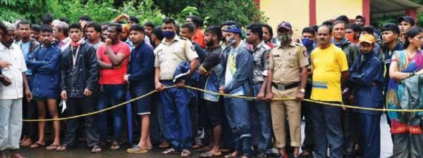 مئات القتلى والمفقودين في أمطار الهند
