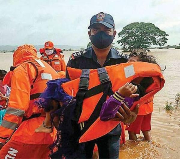 124 قتيلا وعشرات المفقودين حصيلة أمطار الهند