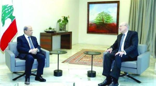 الرئيس اللبناني يكلف نجيب ميقاتي بتشكيل الحكومة
