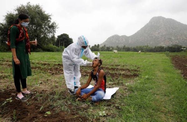 الهند تسجل 29689 إصابة جديدة بكورونا و415 وفاة