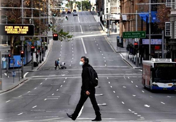 تمديد الإغلاق في سيدني الأسترالية لمدة أربعة أسابيع بسبب تفشي المتحور دلتا