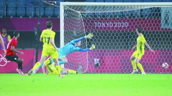 هدف مصر الأول في مرمى أستراليا