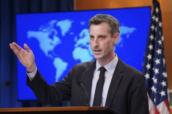 الولايات المتحدة تدين استخدام العنف ضد المحتجين في إيران