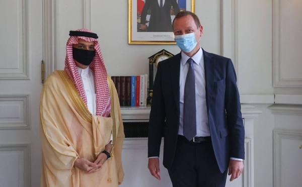 وزير الخارجية يلتقي مستشار الرئيس الفرنسي للشؤون الدبلوماسية