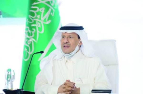 عبدالعزيز بن سلمان: تطوير أنواع جديدة للطاقة والعمل بنظام الاقتصاد الدائري للكربون
