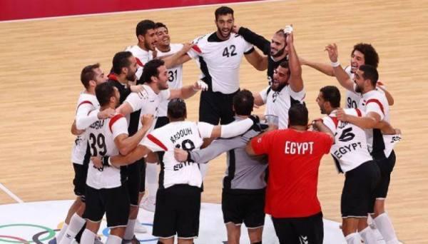 يد مصر تتأهل لربع النهائي