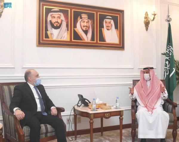 مدير عام فرع وزارة الخارجية بمنطقة مكة المكرمة يستقبل قنصل لبنان العام بجدة
