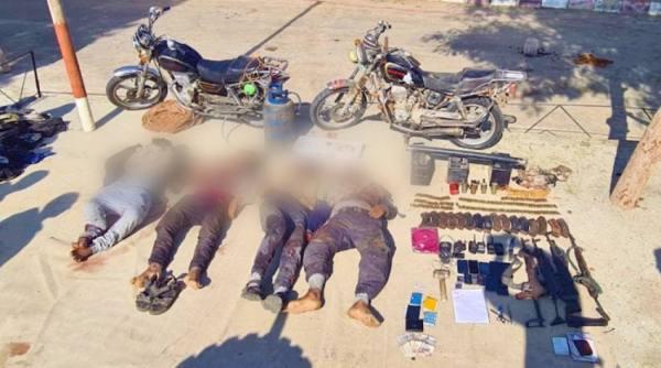 القوات المسلحة المصرية : مقتل إرهابيين