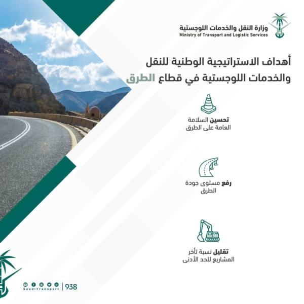 استراتيجية النقل..3 أهداف لقطاع الطرق أبرزها تصدر العالم بـ