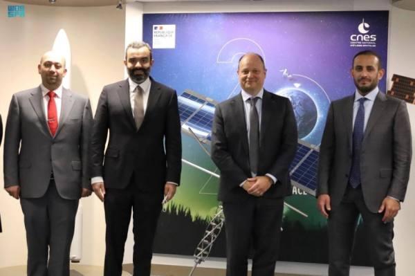 تعاون سعودي فرنسي في بحوث ومجالات صناعة الفضاء