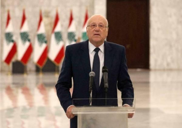 ميقاتي: لا حكومة في لبنان قبل ذكرى انفجار مرفأ بيروت