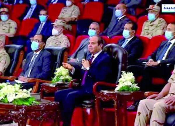 السيسي: حصة مصر من مياه النيل لن تقل