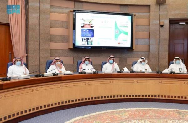 رئيس جامعة الملك عبدالعزيز يدشن خطة الطوارئ والكوارث