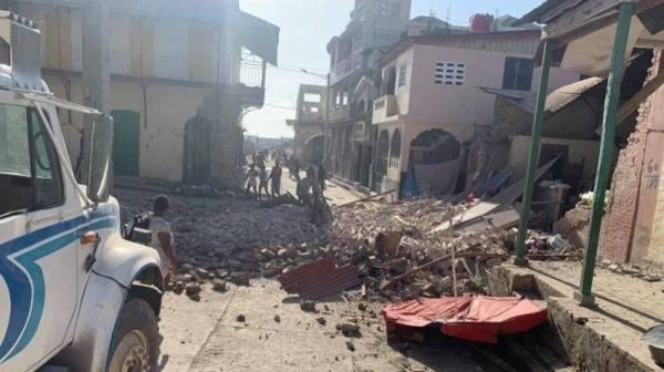بايدن يأمر بمساعدات إلى هايتي بعد الزلزال المدمر