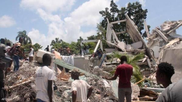 زلزال هايتي المدمر.. ارتفاع حصيلة الضحايا إلى 1297 قتيلا