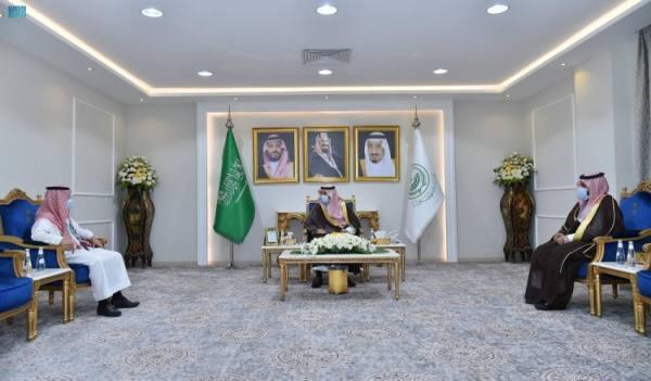 أمير نجران يستقبل مدير بنك التنمية الاجتماعية بالمنطقة