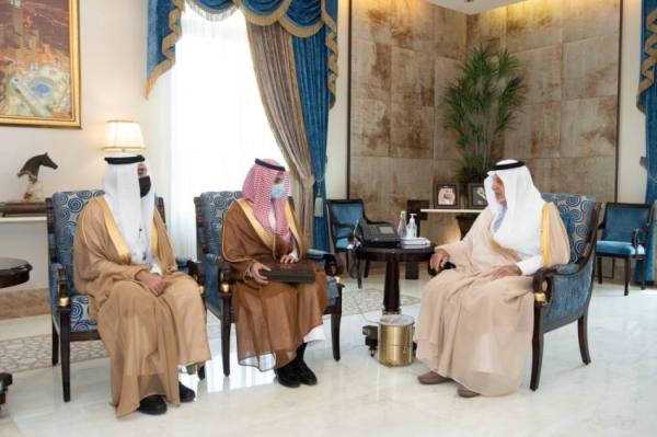 أمير مكة مستقبلا وكيل جامعة الطائف