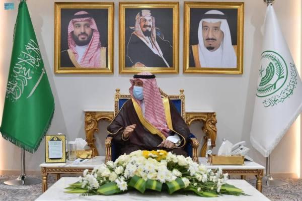 الأمير جلوي بن عبدالعزيز يستقبل رئيس جامعة نجران بمناسبة تكليفه