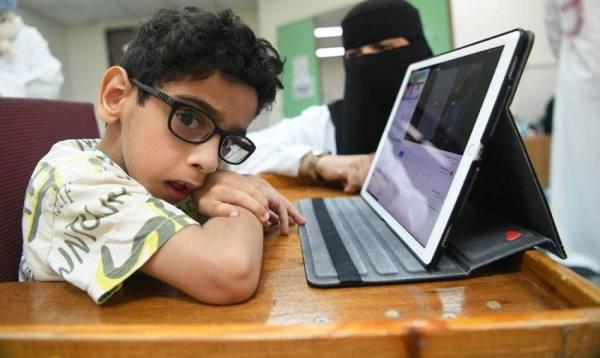 جمعية الأطفال ذوي الإعاقة تستقبل 450 طالباً وطالبة