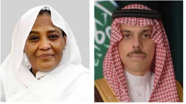 وزير الخارجية يبحث مع نظيرته السودانية التنسيق في القضايا الإقليمية والدولية